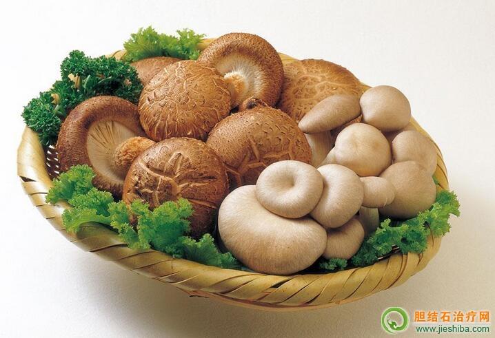 胆囊炎吃香菇好