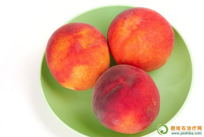 胆囊炎吃桃好